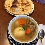 タバスム - バラザスープとノン