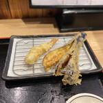 揚げたて天ぷら から天