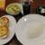 チーズ&個室肉バルUnos Dining - 料理写真:Aセット(チキンカレー+キーマカレー)959円