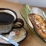 Kazamidori - ドリンクとフレンチトースト