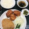 南京路 - 料理写真:とんかつとからあげ(3個)定食