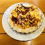 茶ん歩路 - 料理写真:タケノコとキノコのグラタン