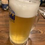 嘉司屋 - とりあえずビール
