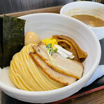 麺屋縁道 - 得製つけ麺(1,050円)