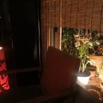 久太郎 - 小さなベランダには植物が・・・