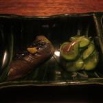 久太郎 - 茄子、きゅうりとミョウガ