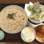 手打ち蕎麦・うどん 郷ごころ - 山菜天ざる