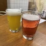麦酒宿 まり花 - 湘南ビールと横浜ヴァイツェン