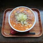 まるしん - マーボ麺(山椒多め)900円