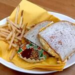 オールドストリーム - サンドイッチ  500円