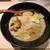 ほそ道 - 料理写真:もつラーメン 900円