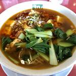 清龍苑 - 麻婆豆腐麺990円