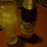 14986572 - アイスプラスビール一本目