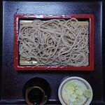 ごまそば 一茶庵 - 料理写真:もりそば ¥680