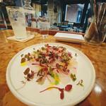 ビストロフジ - 真鯛のカルパッチョ