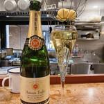 ビストロフジ - Antonin Truffer Chardonnay Brut(