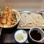 いわもとQ - 天丼セット(もり)