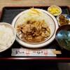 とんかつ 三条 - 料理写真:生姜焼き定食 1290円