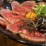 キャメル ダイナー - ローストビーフ丼 アップで♡