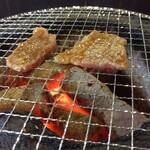 七輪焼肉 安安 - トロカルビ