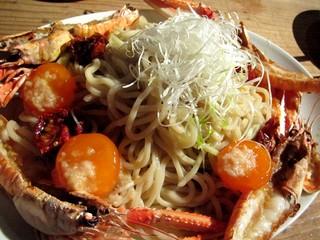 活海老バル orb 天満 - 海老のつけ麺