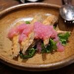Firenze Sake - 新潟県産ハタハタのフリット エスカベッシュソース