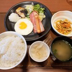 ガスト - 料理写真:バランス定食 769円