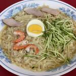 中華そば・冷麺 呉龍 - 冷麺大盛り