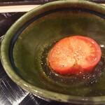 四季彩ダイニング 春 - トマトのお浸し
