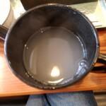 長平 - 蕎麦湯