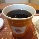 バーガーキング - ホットコーヒー (2012/9)