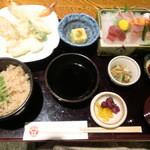 和食とお酒豆助 - 鯛めし膳
