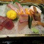 和食とお酒豆助 - 刺身