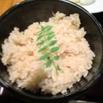 和食とお酒豆助 - 鯛めし