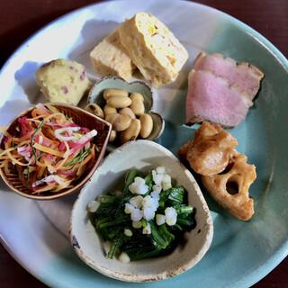 蕎麦藍 - 料理写真:おまかせ料理盛り合わせ