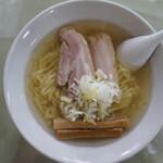 麺や大一 - 会津山塩らーめん(¥800税込み)