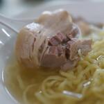 麺や大一 - 山塩らーめん(¥800税込み)