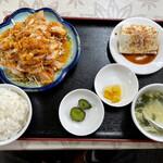 美味鮮 - 油淋鶏定食¥650