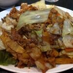 西海 - 回鍋肉定食