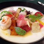 ヴェルデ辻甚 - フランスレストランウィーク2012 ランチ前菜
