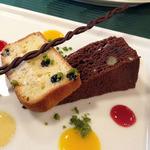 ヴェルデ辻甚 - フランスレストランウェーク2012 ランチデザート盛り合わせ