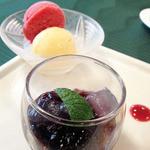 ヴェルデ辻甚 - フランスレストランウィーク2012 ランチデザート盛り合わせ