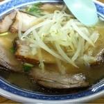 ラーメンセンター本陣 - チャーシュー麺_2012年9月