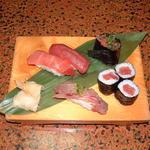 一福寿司 - 天然鮪三昧。鮪には特にこだわってます。この内容でこのお値段は、なかなかないでしょう。