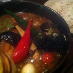 スープカレーGARAKU - 野菜15品目大地の恵