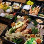 一福寿司 - お正月の定番。仕込みに手をかけてます。一年の集大成。