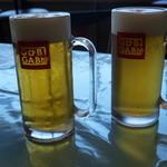 Gubigabu - 空のビールと川のビール