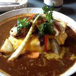 のだ屋 - 季節の野菜カレー850円