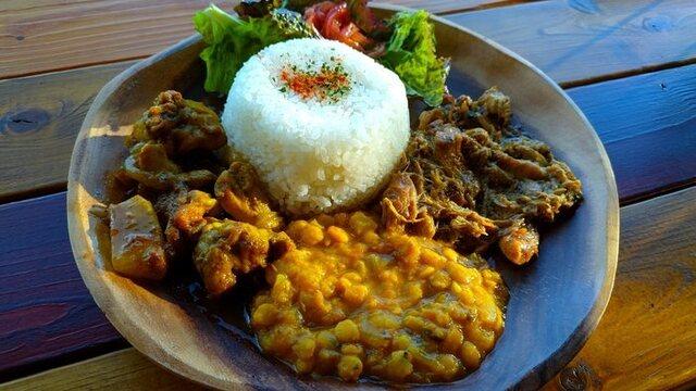 Living Cafe シャンティの料理の写真