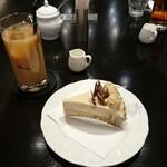 文房堂Gallery Cafe - アップルキャラメルのタルト